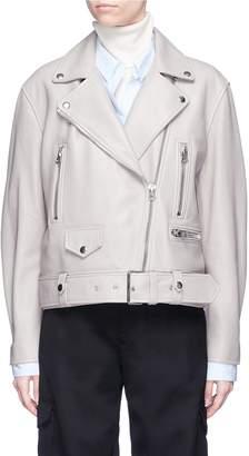 Acne Studios 'Merlyn' lambskin leather biker jacket