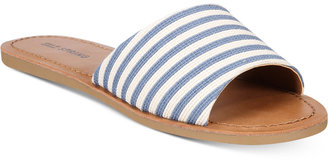 Call It Spring Thirenia Slide Sandals Women's Shoes $39.50 thestylecure.com
