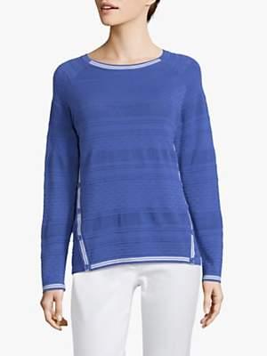 Betty Barclay Fine Textured Knit Jumper, Adria Blue