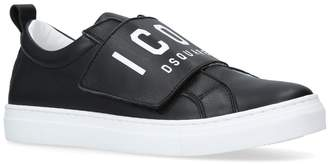 DSQUARED2 Icon Velcro Low Sneakers