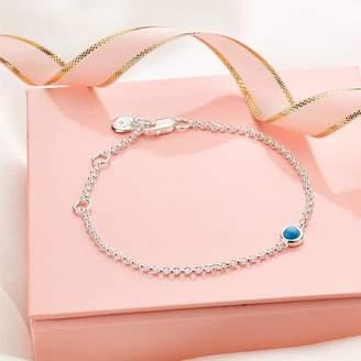 Molly Brown London December Turquoise Birthstone Bracelet