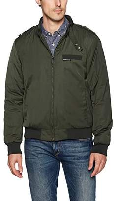 Members Only Men's Big and Tall Cold Weather Original Iconic Racer Jacket