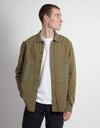 YMC Doc Savage Shirt Green