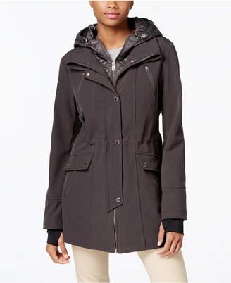 Nautica Layered Softshell Jacket $180 thestylecure.com