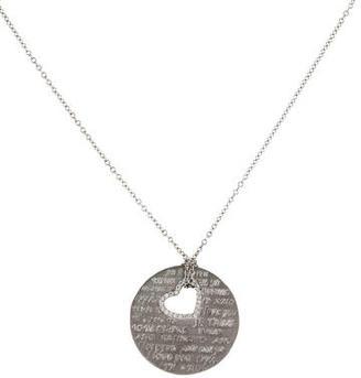 I. Reiss Love Diamond Necklace w/ Tags $1,025 thestylecure.com