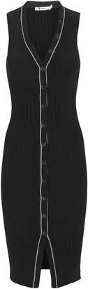 Alexander Wang Skinny Ribbed Knit Dress