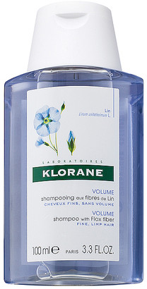 Klorane Travel Shampoo with Flax Fiber.