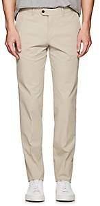 Hiltl Men's Stretch-Cotton Modern-Fit Trousers - Beige/Tan Size 42