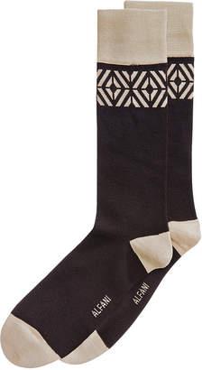Alfani Men's Tiled Socks, Created for Macy's