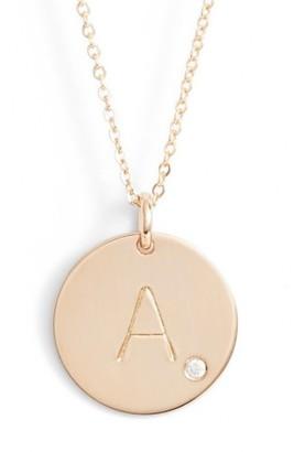 Women's Nashelle Diamond Initial Pendant Necklace $145 thestylecure.com