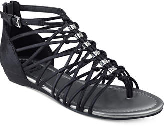 G by Guess Jonsie Strappy Flat Sandals Women's Shoes