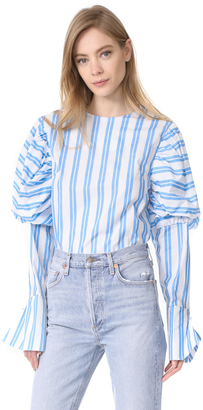 Style Mafia Bluebell Blouse $129 thestylecure.com