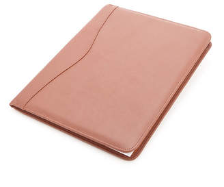 Royce New York Suede Lined Executive Writing Portfolio
