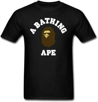 A Bathing Ape OYASUMI Men's Black T-Shirt