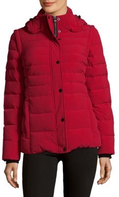 Down Puffer Jacket $395 thestylecure.com