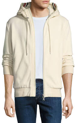 Moncler Men's Hooded Zip-Front Sweatshirt