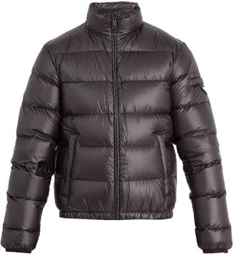 Prada Funnel-neck long-sleeved down-padded jacket