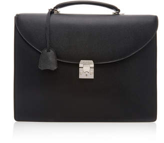 Mark Cross Maddox Textured-Leather Briefcase