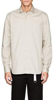 Barneys New York Men's Cotton Twill Shirt