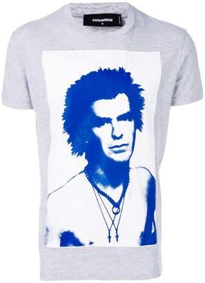 DSQUARED2 slim fit printed T-shirt