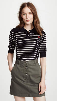 Scotch & Soda/Maison Scotch Knit Polo Tee