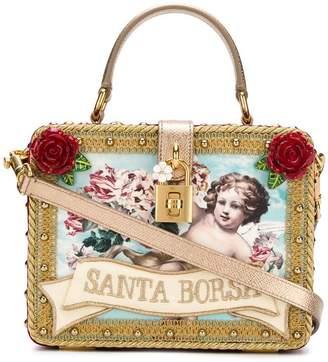 Dolce & Gabbana Santa Borsa box tote