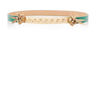 Elie Saab Paradise Bird Leather Belt