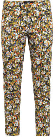 Suno Little People printed trousers