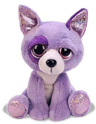 Suki Gifts Lil Peepers Fun Salsa Chihuahua Dog Plush Toy with Pink Sparkle Accents Medium