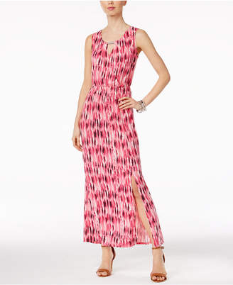 NY Collection Hardware Maxi Dress $50 thestylecure.com