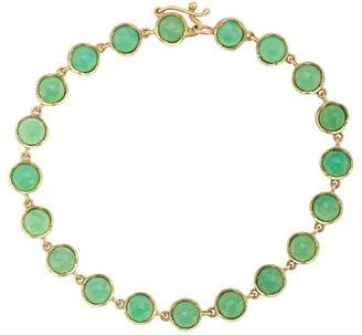 Irene Neuwirth 18kt yellow gold chrysoprase bracelet