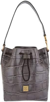 Dooney & Bourke Croco Leather Hattie Drawstring Bag