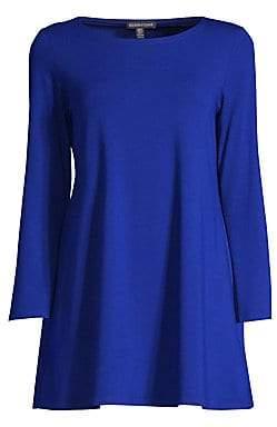 Eileen Fisher Women's Kimono Sleeve Tunic