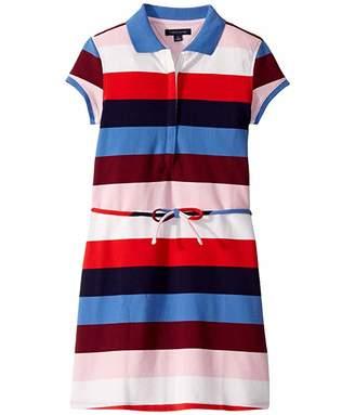 Tommy Hilfiger Adaptive Dress with Zip Front Closure (Little Kids/Big Kids)