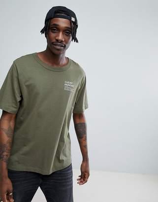 Cheap Monday Focus Text T-Shirt