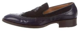 Etro Leather Dress Loafers