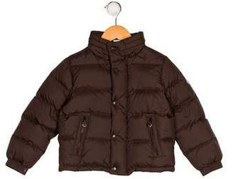 Moncler Boys' Hooded Puffer Jacket