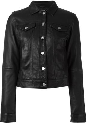 Calvin Klein buttoned jacket $2,057 thestylecure.com