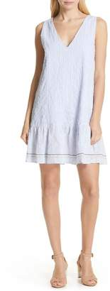 Dolan Sally Embroidered Drop Waist Dress
