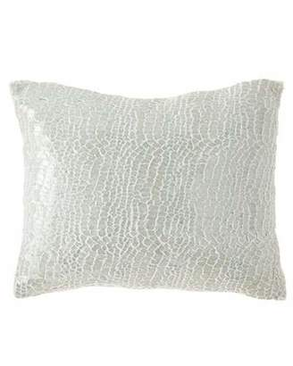 "Pine Cone Hill Gloss Velvet Decorative Pillow, 16"" x 20"""
