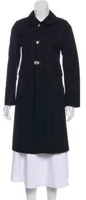 Marni Long Sleeve Knee-Length Coat