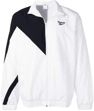 Reebok embroidered logo sports jacket