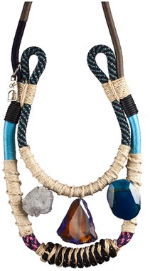 Proenza Schouler Double Strand Rope Necklace