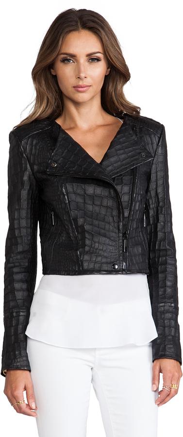 Rachel Zoe Everett Cropped Jacket