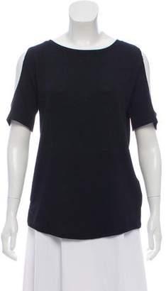 Rag & Bone Cold-Shoulder Knit Top