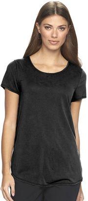 Women's Apt. 9® Tunic Tee $26 thestylecure.com