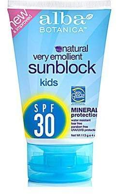 Alba Kids Mineral Sunscreen SPF 30 4 oz (Pack of 13)