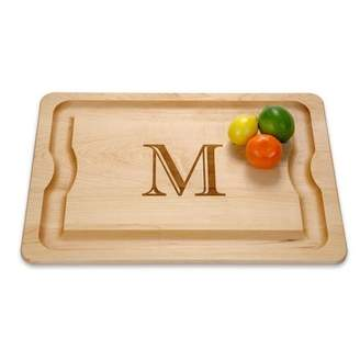 "J.K. Adams BBQ Cutting Board 20"" x 14"" Monogrammed"