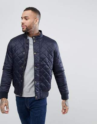 Barbour Moss Quilted Jacket in Navy