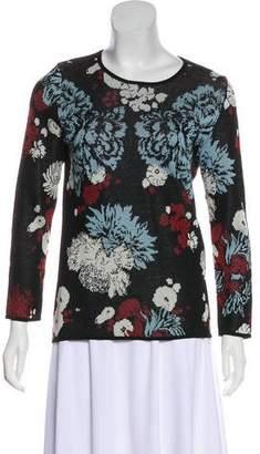Dries Van Noten Floral Knit Sweater